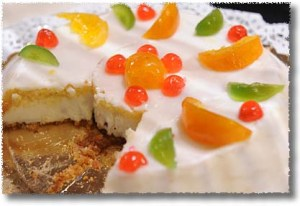 Cassata, Perpared by the Hotel Moderno in Erice