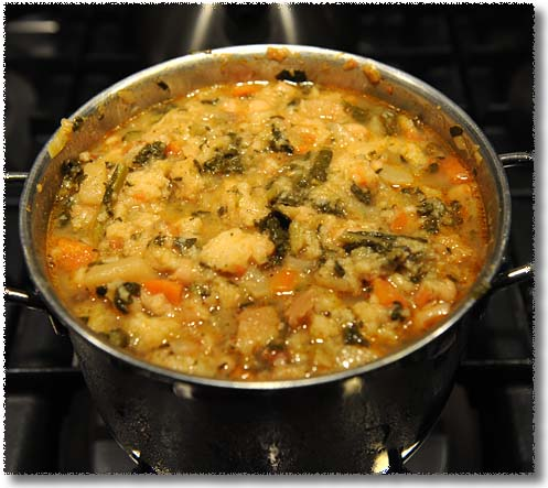 Ribollita in the Making