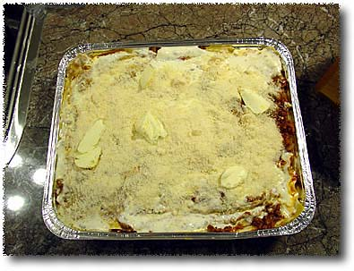 Making Lasagna: Dot it With Butter