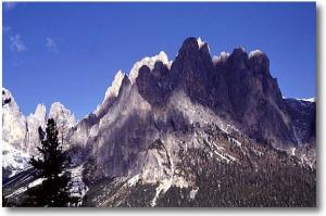 Il Catinaccio, in the Dolomites