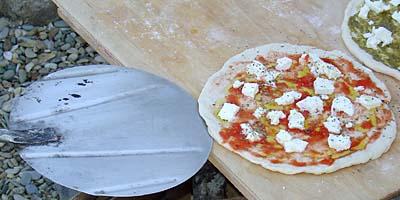 Slip the Peel Under the Pizza