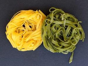 Paglia e Fieno, Spinach and Regular Tagliatelle