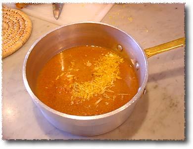 Roast Veal Shank: Adding Lemon Zest