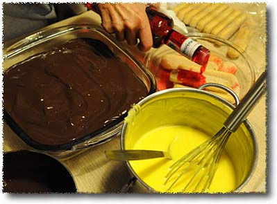 Making Zuppa Inglese: Preparing Savoiardi