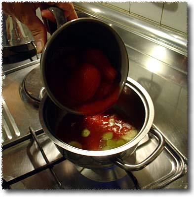 La Braciola Fritta alla Fiorentina: Preparing the Sauce
