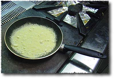 Making a Cheese Basket: Heat...