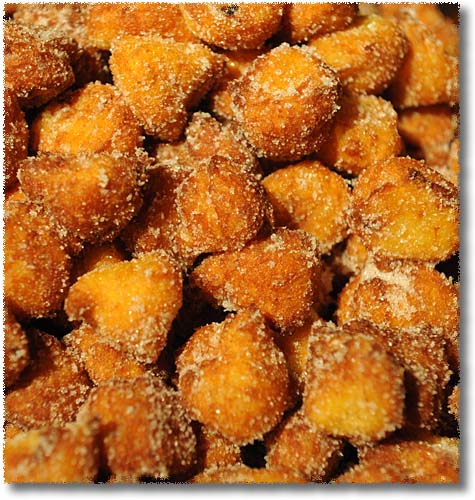 Frittelle di Riso, Rice Fritters