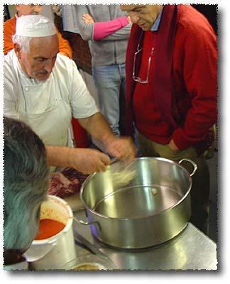 Making Modern Peposo: Garlic...