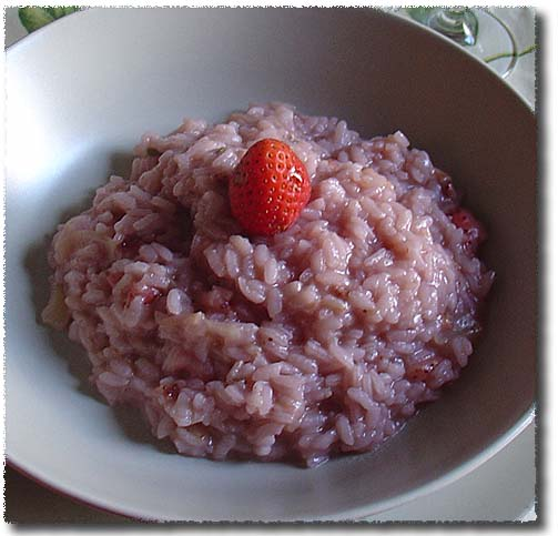 Risotto alle Fragole, Strawberry Risotto
