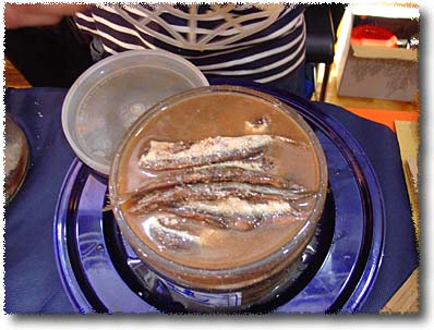 Salted Anchovies, Ready to Eat