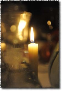 Candle Light at Il Santo Bevitore