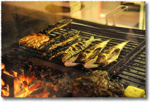 Fish on the Grill!
