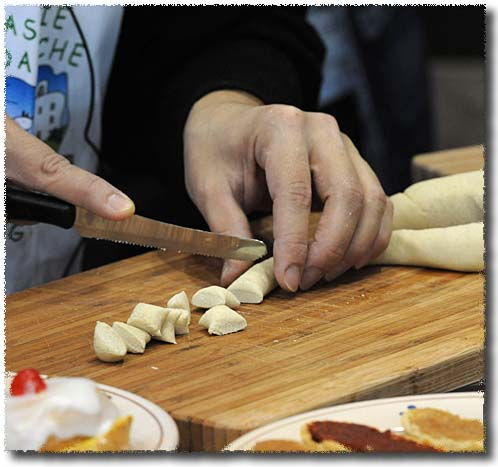 Orecchiette: Cutting the Snake
