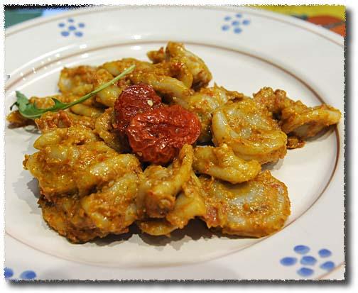 Orecchiette With Tomato (and More) Pesto