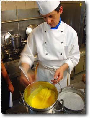 Making Zuccotto: Preparing Torta Genovese