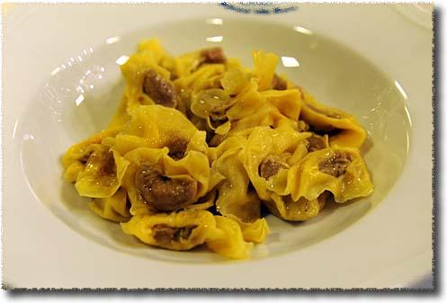 Ristorante alla Borsa Tortellini Nodo d'Amore with Butter
