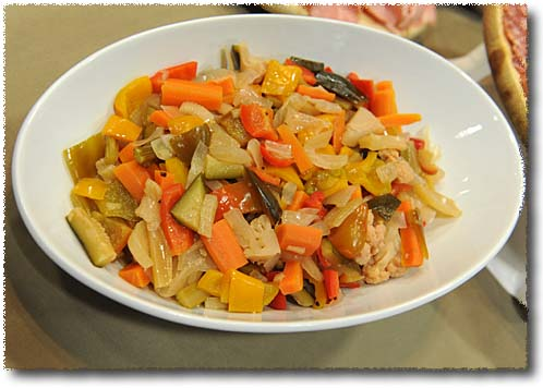 Giardiniera, A Pickled Vegetable Medley