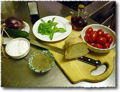 Making Panzanella: What You'll Need