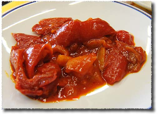 Peperonata, Stewed Peppers