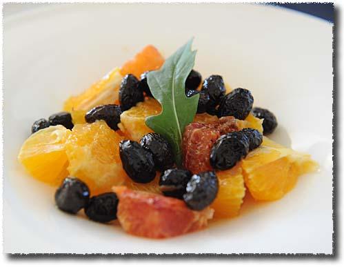 Ristorante Degli Angeli Orange and Olive Salad