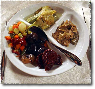 A Vegetarian Antipasto Misto