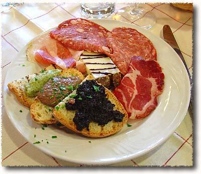 An Antipasto Misto Toscano