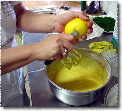 Barbara Lucchi's Ciambella alla Romagnola: Add Lemon Zest