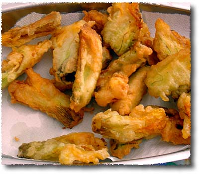 Fried Zucchini Blossoms: Enjoy!