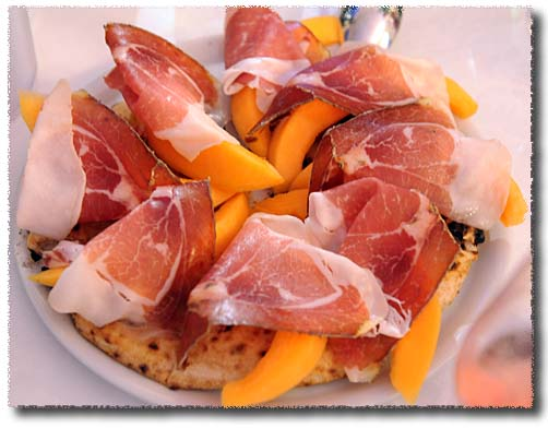 Giovanni Santarpia's Prosciutto and Melon Pizza