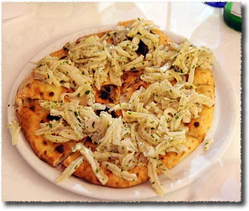 Giovanni Santarpia's Tripe Salad Pizza