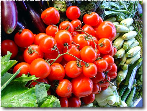Pomodori a Grappolo, Tomatoes by the Bunch